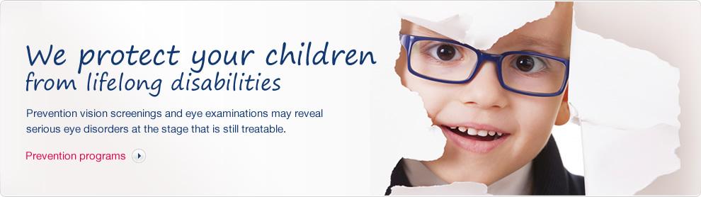 Chráníme děti před celoživotním hendikepem